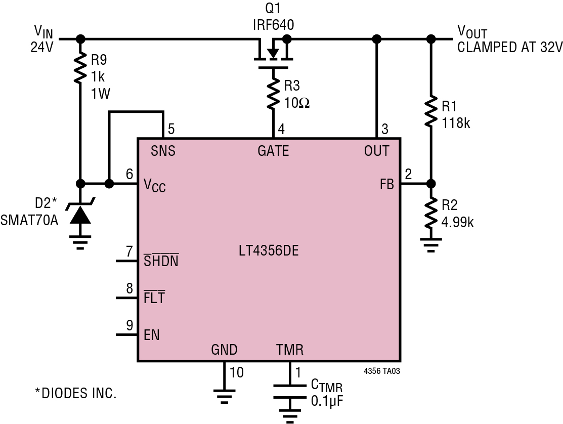 High Voltage Surge Stoppers Ensure Reliable Operation During Power Mosfet Current Limiting Circuit Linear Regulator And Surges Page 2 Of 5