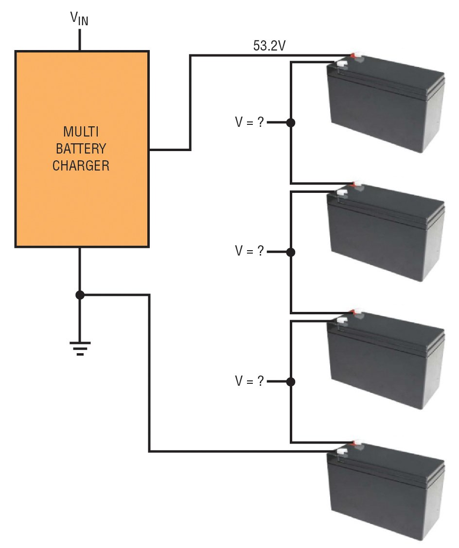 Balancing Lead Acid Batteries Eenews Automotive Series Circuit With A Voltage Source Such As Battery Or In This