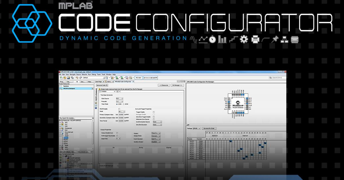 Code configuration plug-in for 16-bit PIC development, free