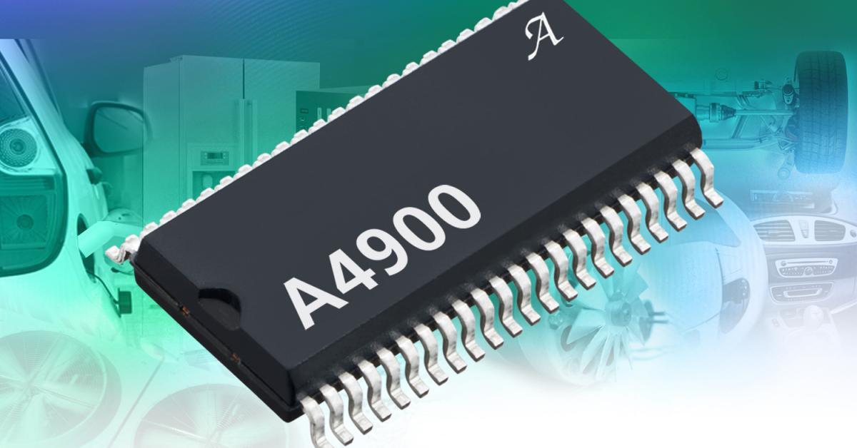 48 V Battery Hv Brushless Dc Motor Driver Ic For Evs And Hevs