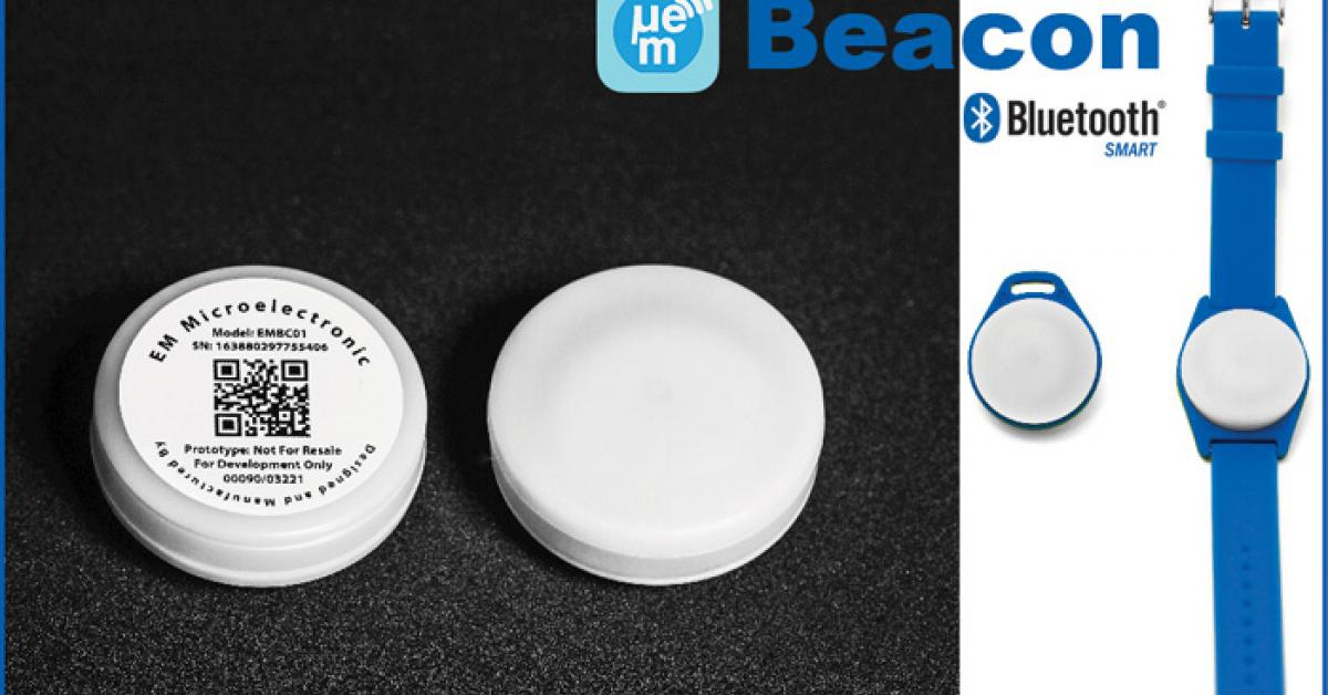 FCC/CE/IC certified Bluetooth® SMART beacons