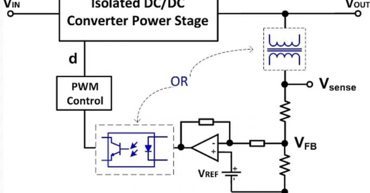 understanding isolated dc  dc converter voltage regulation
