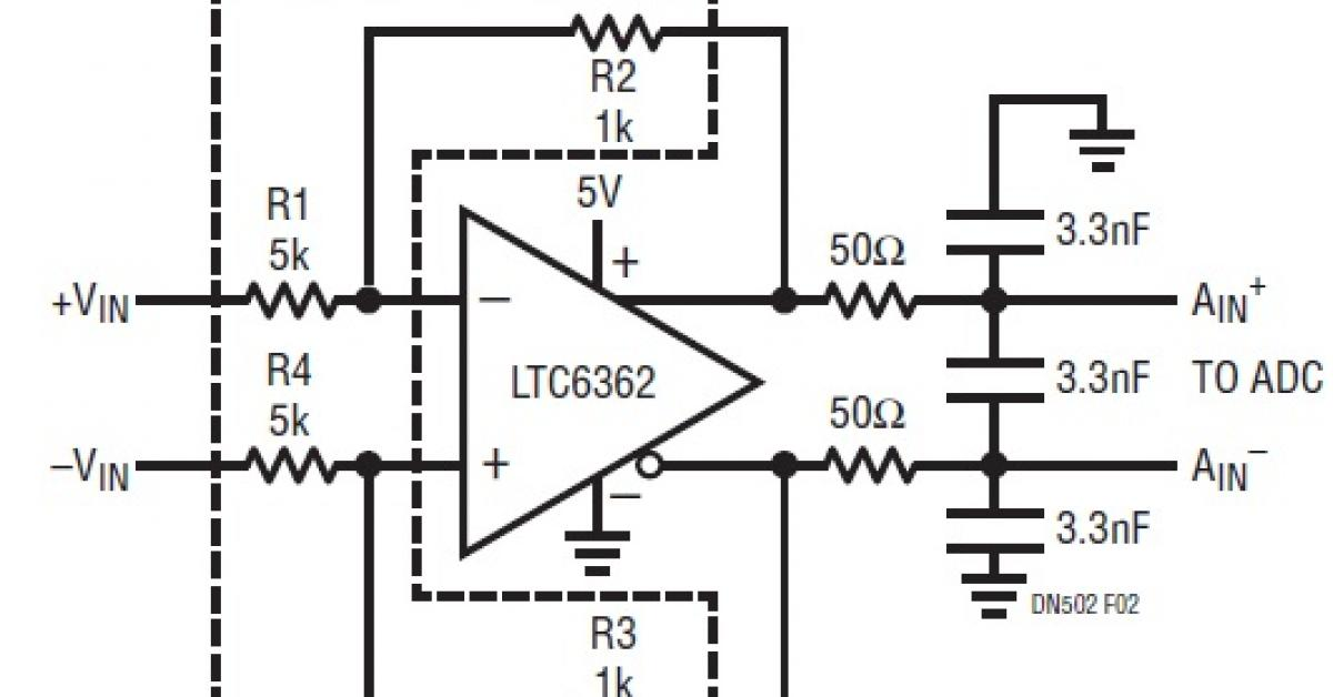 matched resistor networks for precision amplifier applications
