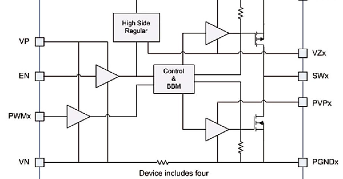 envelope tracking modulator with quad power ic and fpga control