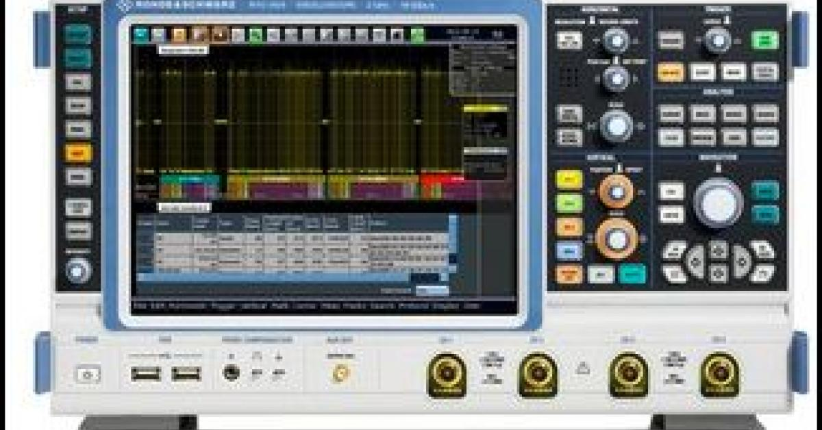 New option for Rohde & Schwarz oscilloscopes allows FlexRay