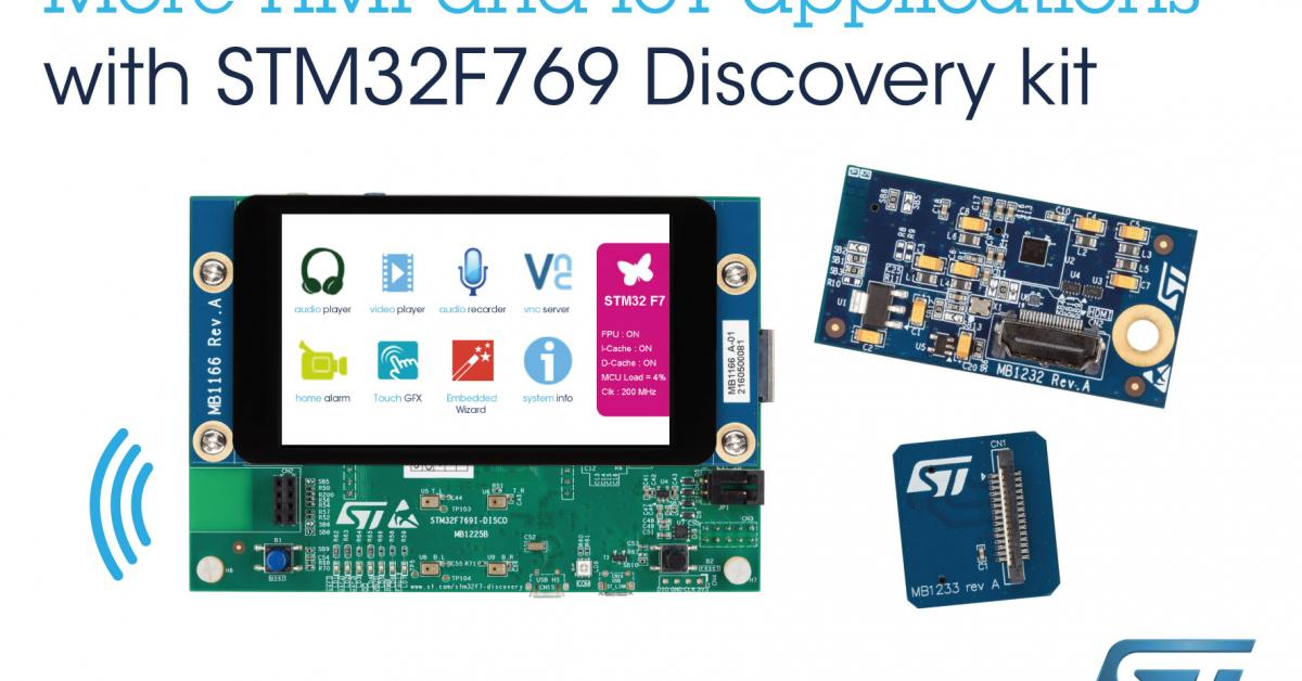 Cortex-M7 discovery kit targets IoT, embedded systems