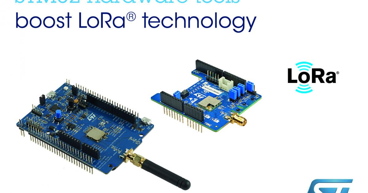 Check out LoRa long-range IoT connectivity on STM32 eval boards