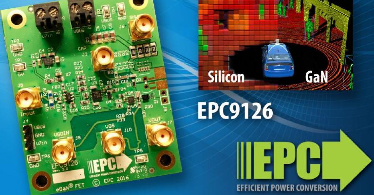 Egan Fet Based High Current Pulsed Laser Diode Driver