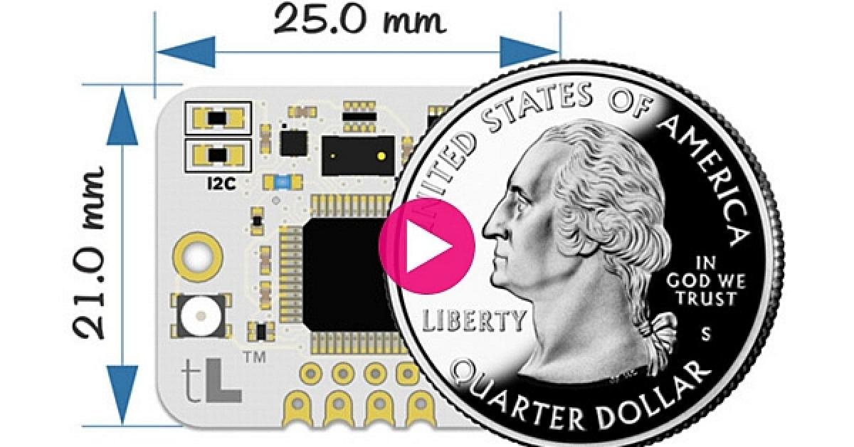 Maker-friendly' tiny LiDAR module on Indiegogo