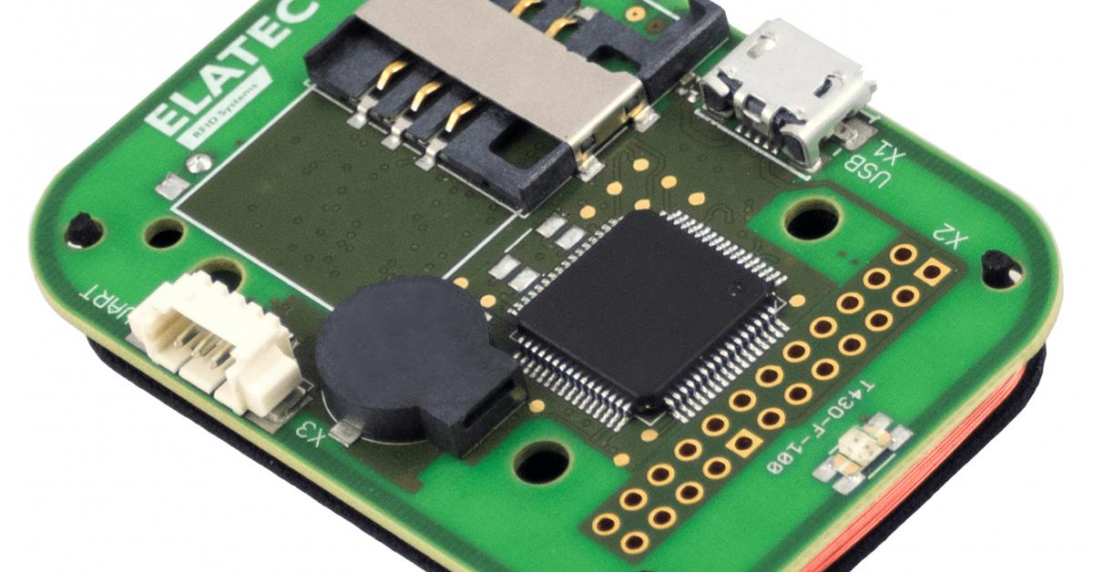 RFID reader/writer supports all common RFID standards as