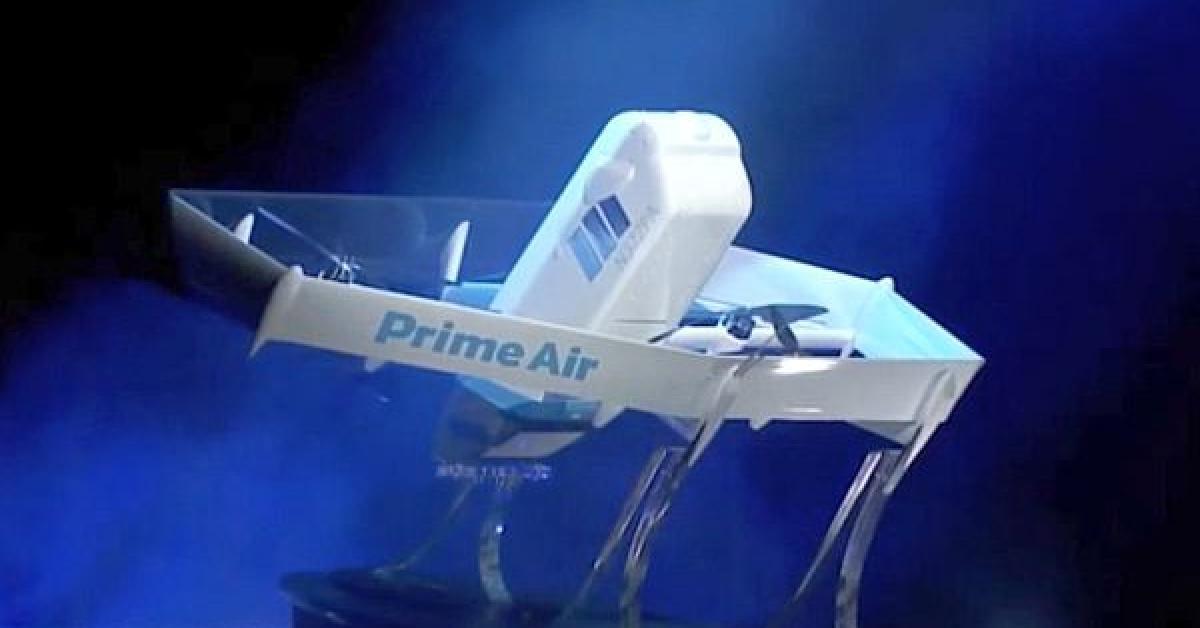 Amazon Unveils New Prime Air Drone Design