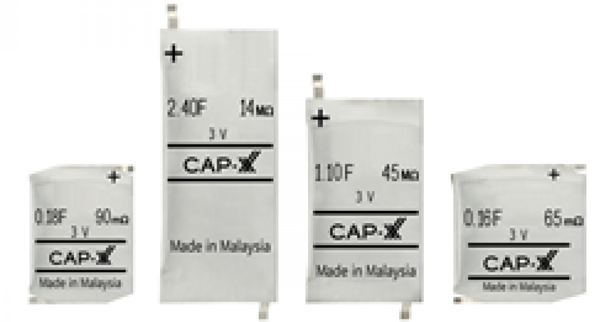 3V prismatic supercapacitor is industry first