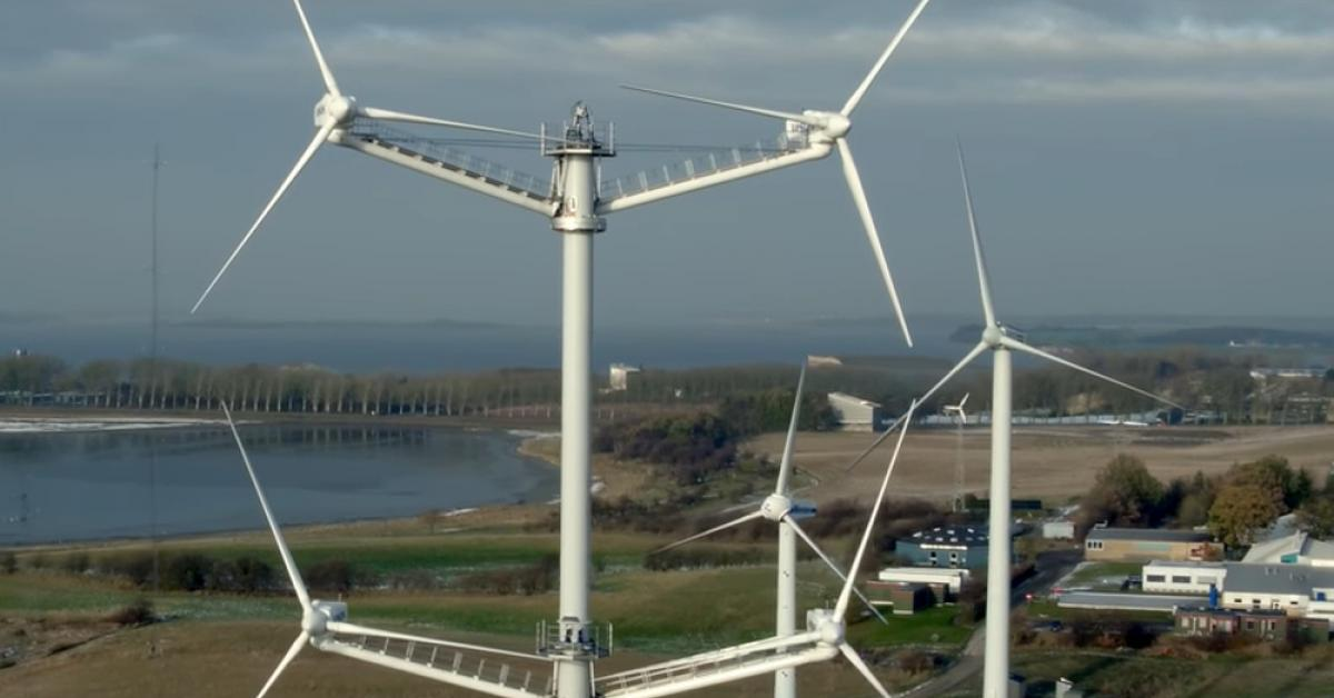 Computer Models Show Clear Advantages in New Types of Wind Turbines