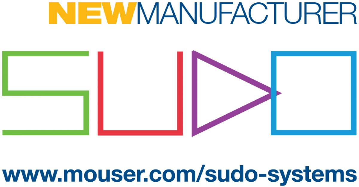 Mouser signs worldwide deal with Sudo Systems