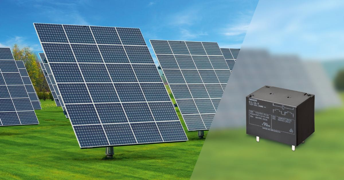 Solar Panel Safety Relay Handles 1000vdc