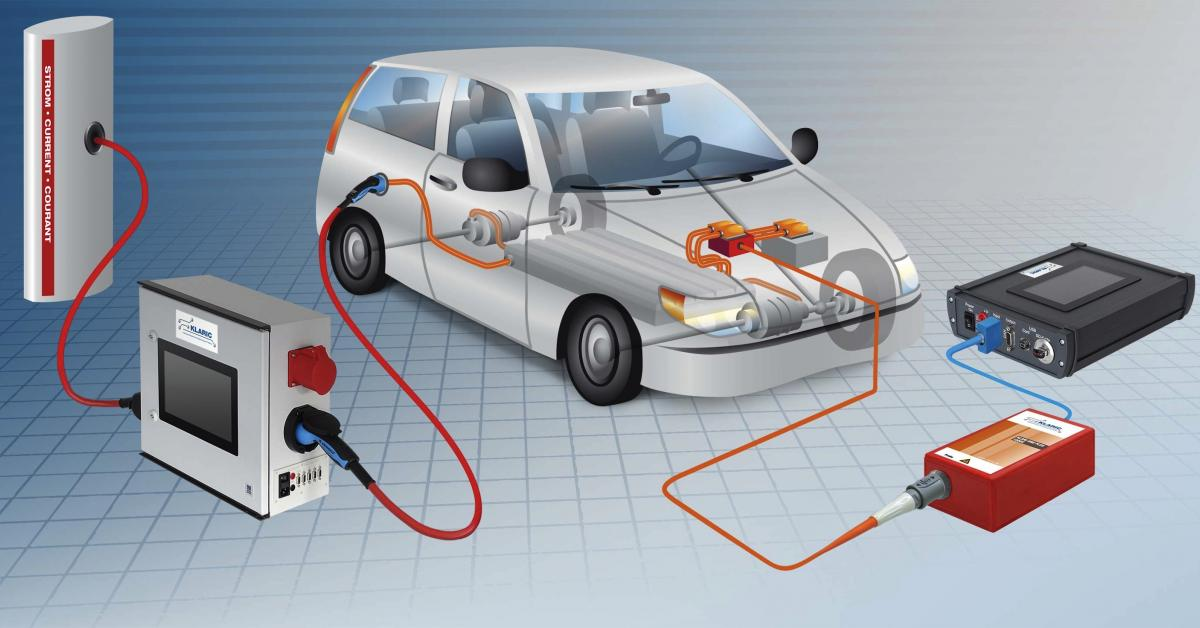 Data logger for electric vehicle charging