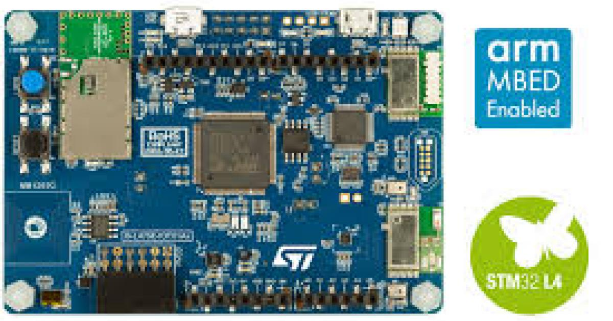 STM32 Bluetooth, Ethernet, LTE Cat-M / NB-IoT starter kits for