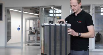Bosch, Powercell mettent la pile à combustible en production