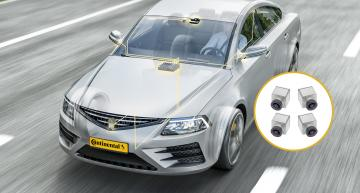 Cameras provide more visibility around the car