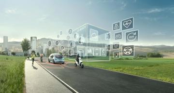 Auto slump draws brake marks in Bosch figures