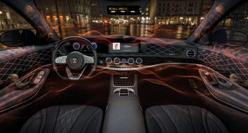 Saving space in cars (and elsewhere) with a speakerless audio system saves space