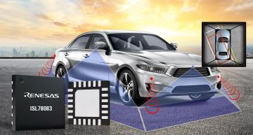 PMIC simplifies power supply design for automotive cameras