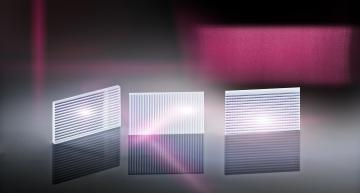 Eye-safe wide-angle diffuser targets lidar applications