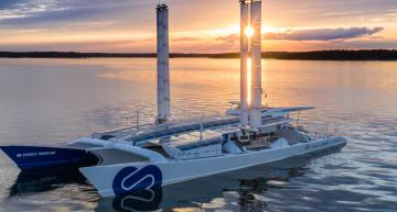 Fuel cell powered ship sets sail