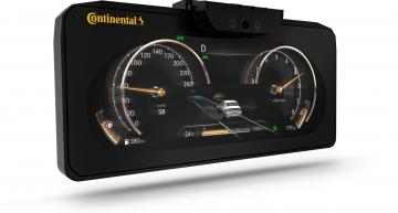 Continental brings 3D display to a series car