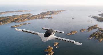Air taxi startup raises $240 millions