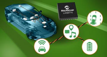 Ethernet PHY chip targets space-constrained applications in the car