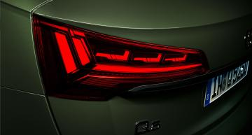 """Audi equips Q5 with """"digital"""" OLED taillights"""