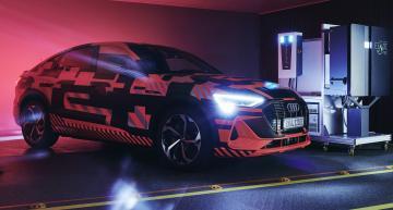 Audi tests bi-directional charging