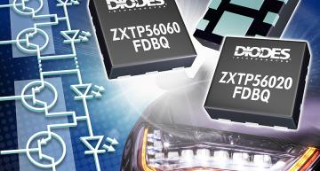 PNP transistors are optimized for automotive matrix lighting