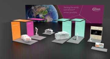 Infineon opens virtual tradefair booth on sensor