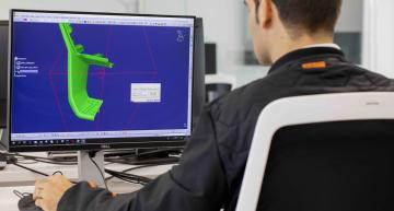 SEAT produces prototype components on the 3D printer