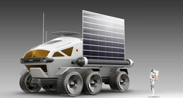 "Toyota's ""Lunar Cruiser"" takes shape"