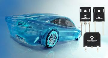 Microchip expands range of SiC Schottky Barrier Diodes for automotive applications