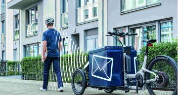 "Autonomous cargo bike to smoothen the ""last mile"" in logistics"