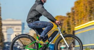 E-bike drivetrain combines motor with adaptive transmission