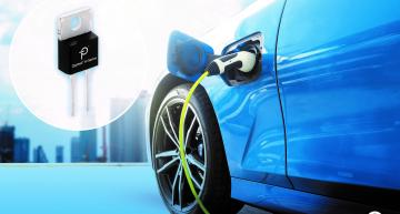 Automotive-qualified silicon diode challenges SiC parts