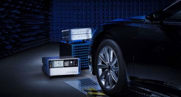 Test system for automotive radar sensors simulates transversely moving objects