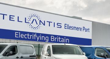 Stellantis leads Vauxhall plant into electric future