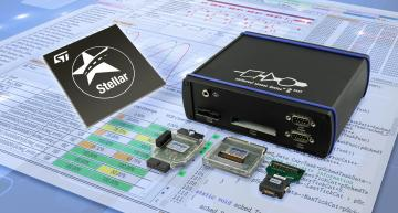 UDE development tool supports ST's Stellar SR6 P and G Integration MCUs