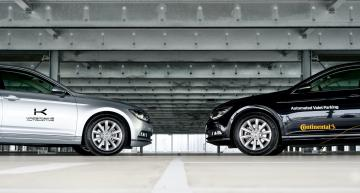 Continental drives Automated Valet Parking with AI startup investment