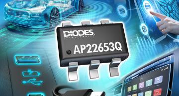 Current-limiting power switch protects automotive subsystems