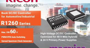 Versatile DC/DC controller suits automotive, industrial applications