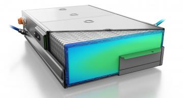 Immersion cooling shortens charging time of batteries for e-cars