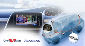 Renesas, OmniVision unveil reference design for automotive camera system