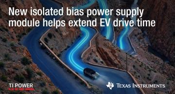 Bias power supply module integrates transformer, halves footprint